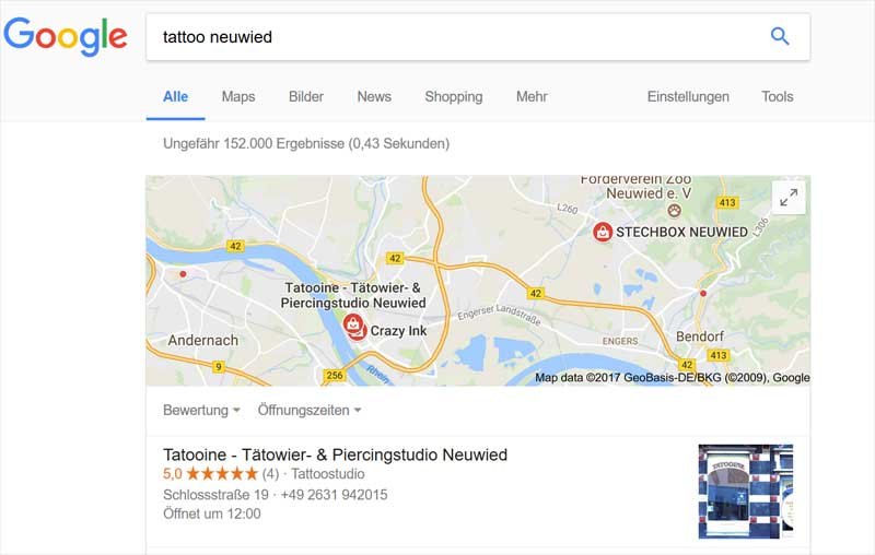 googlemybusiness tattoo